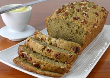 Yogurt-Zucchini Bread with Pecans