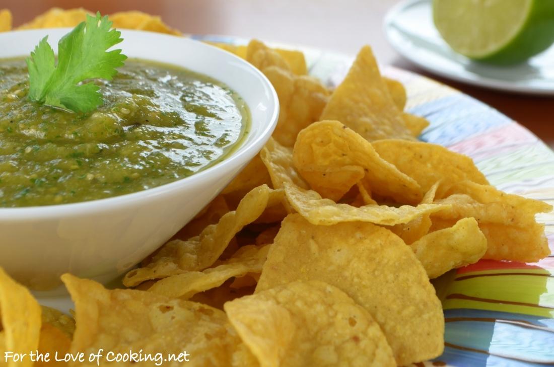 Roasted Hatch Chile Salsa Verde