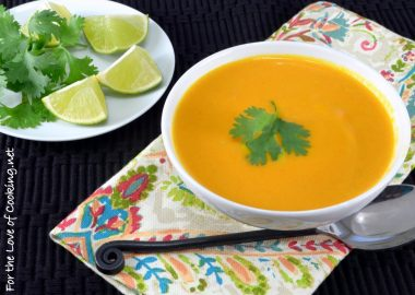 Curried Carrot & Coconut Soup