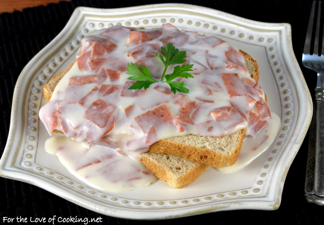 Creamed Chipped Beef On Toast S O S For The Love Of Cooking
