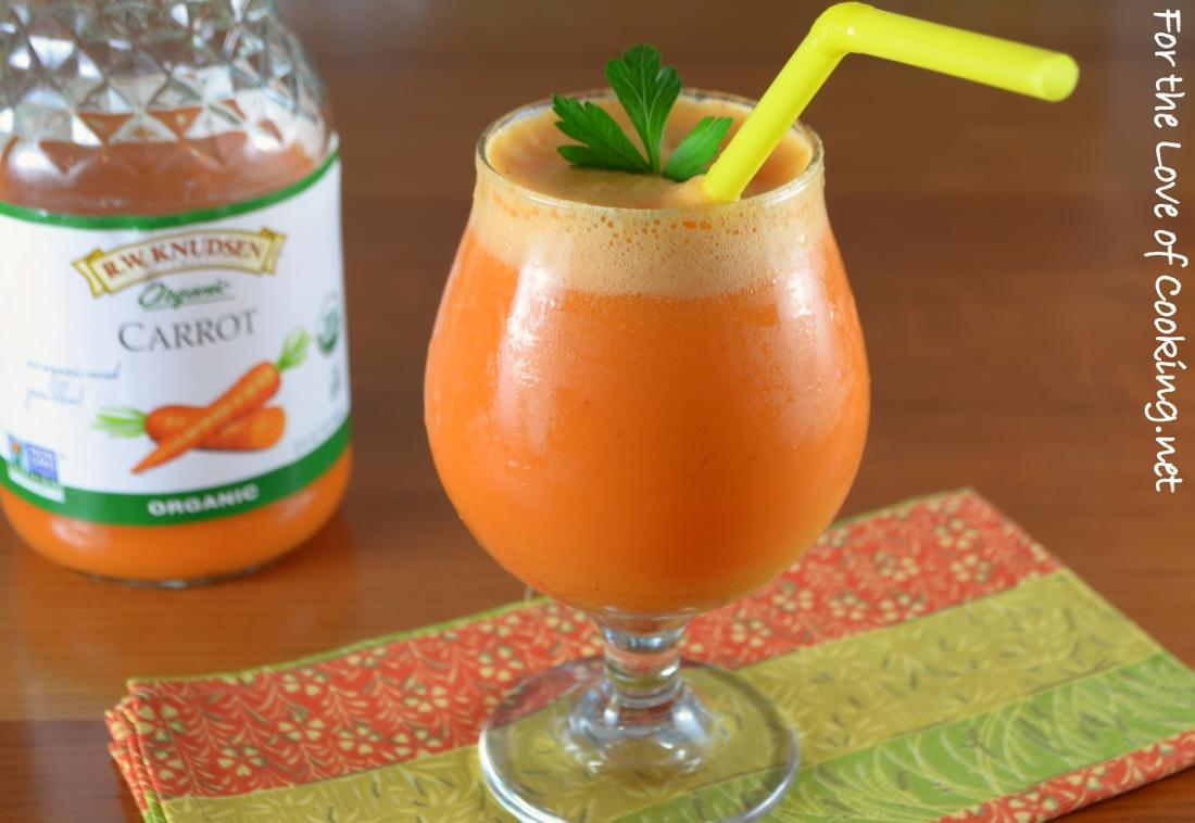 Carrot, Apple, & Citrus Smoothie