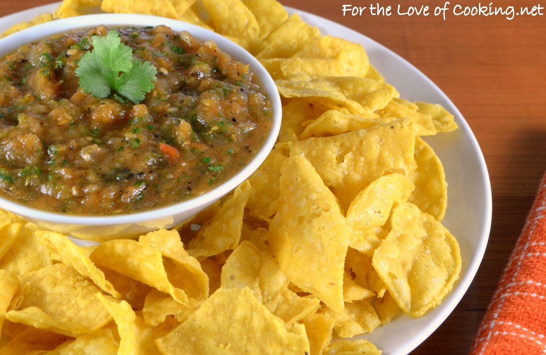 Smoky Salsa Chevy S Salsa For The Love Of Cooking