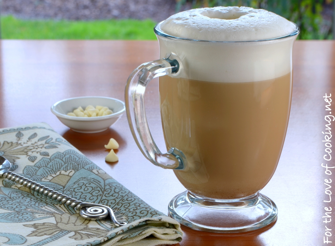White Chocolate Mocha Latte For The Love Of Cooking