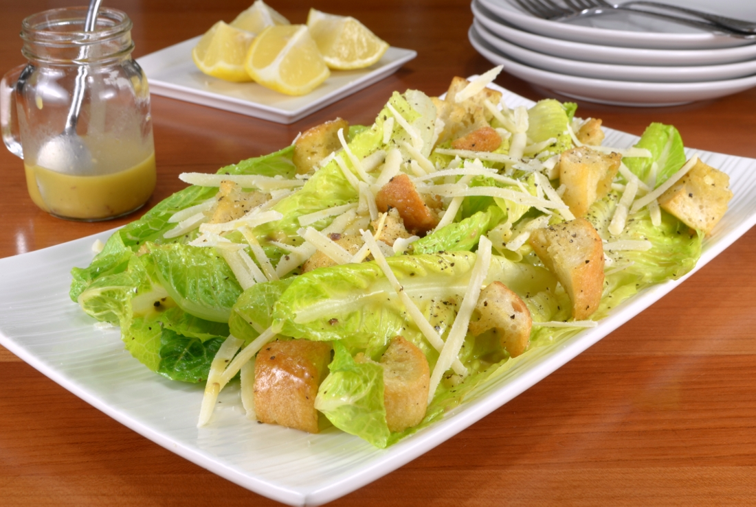 Classic Caesar Salad | For the Love of Cooking