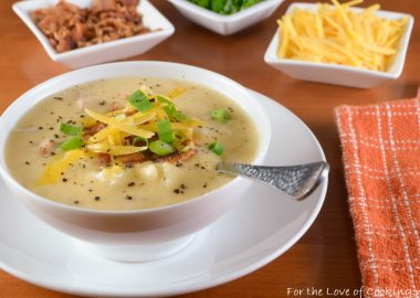 Cheesy Ham and Potato Chowder