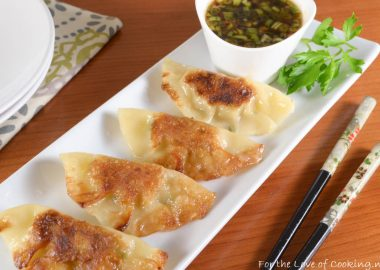 Chicken-Lemongrass Potstickers