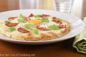 Caprese Breakfast Pizza