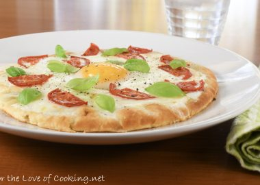 Caprese Breakfast Pizza