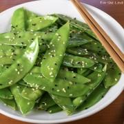 Sesame Snow Peas