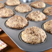 Glazed Apple Cinnamon Muffins