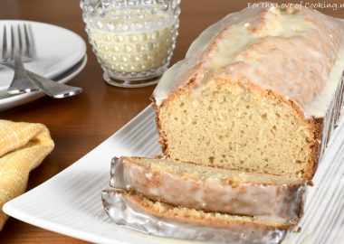 Glazed Eggnog Bread
