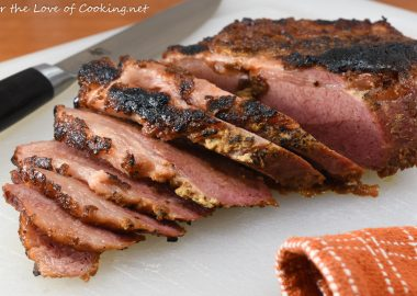 Baked Dijon-Brown Sugar Corned Beef