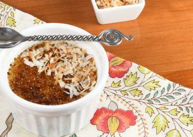 Coconut Crème Brûlée