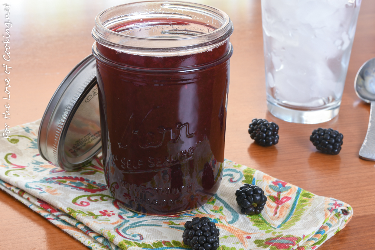 Blackberry Simple Syrup