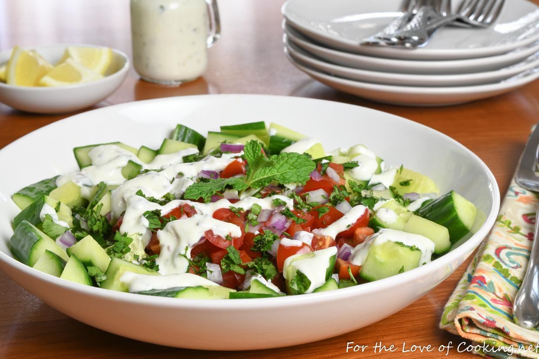 Cucumber Yogurt Raita Salad