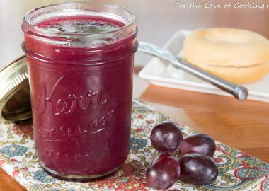 Three-Ingredient Grape Jam