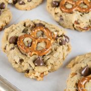 Peanut Butter Pretzel Chocolate Chip Cookies