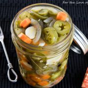 Taqueria Style Pickled Jalapenos and Carrots