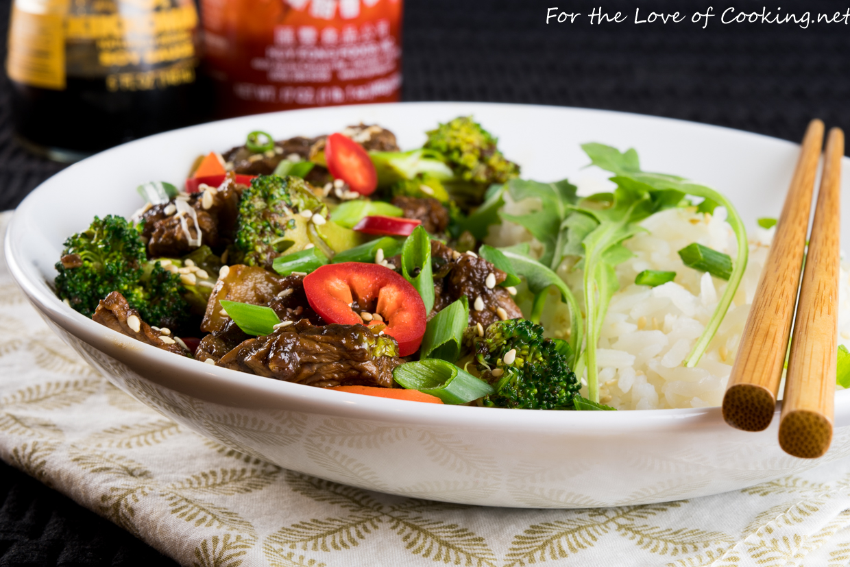 Beef Bulgogi with Vegetables