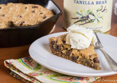 Cast-Iron Skillet Chocolate Chip Cookie