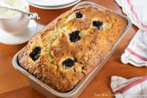 Blackberry Coconut Bread
