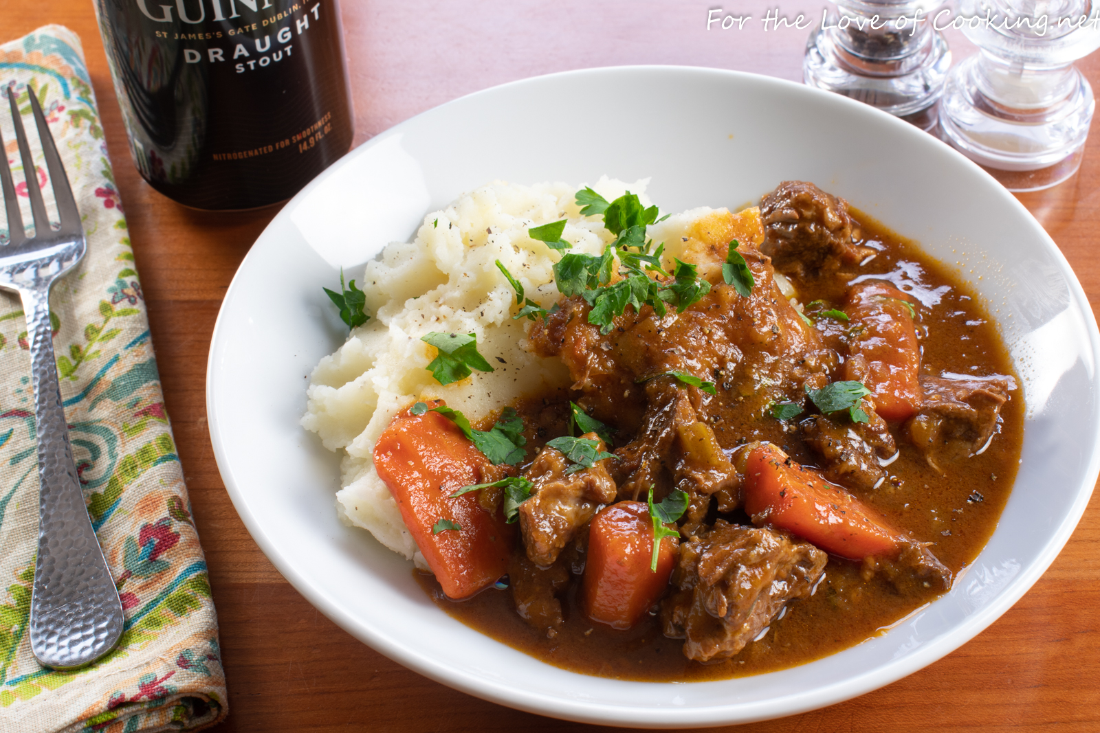 Irish Beef And Guinness Stew For The Love Of Cooking