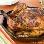 Peruvian-Style Roasted Chicken