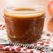 Apple Cider Caramel Sauce