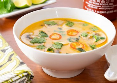 Tom Kha – Thai Coconut Soup