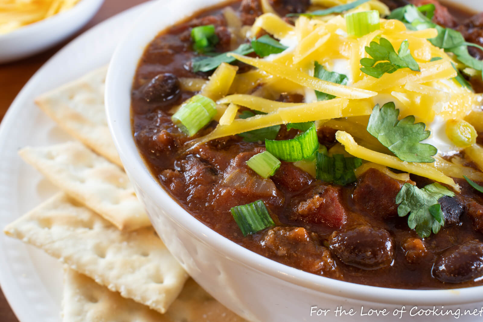 Beef Chili With Bacon And Black Beans For The Love Of Cooking