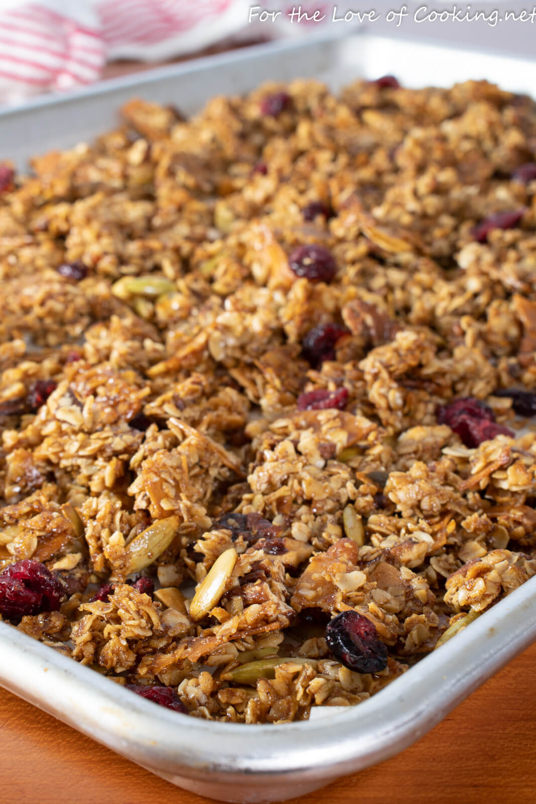 Brown Butter Granola with Pecans