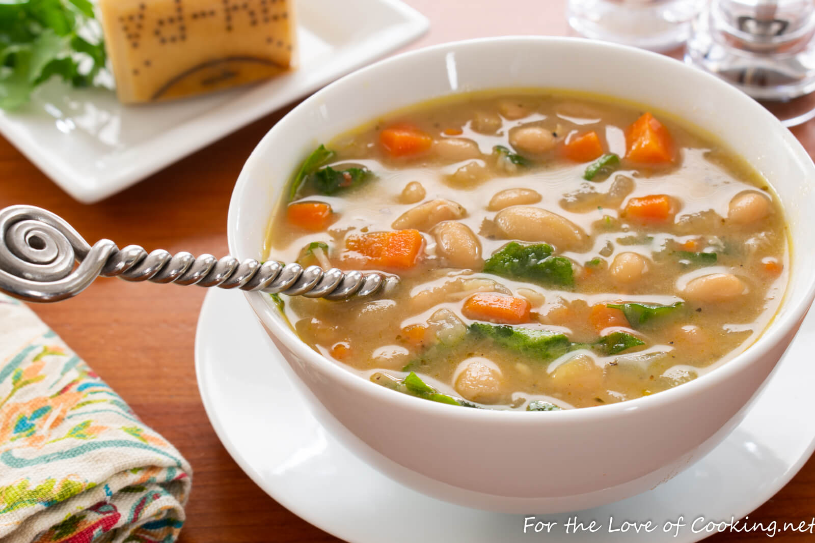 Mediterranean White Bean Soup For The Love Of Cooking
