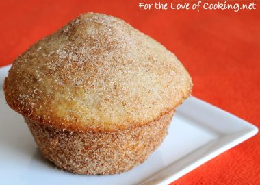 Cinnamon and Sugar Donut Muffins