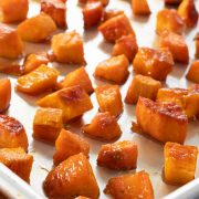 Maple Roasted Sweet Potatoes