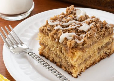 Brown Butter Cinnamon Streusel Banana Coffee Cake