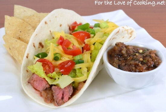 Steak Soft Tacos