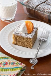 Spiced Clementine Cake