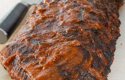 Oven-Roasted Baby Back Ribs with Barbecue Sauce