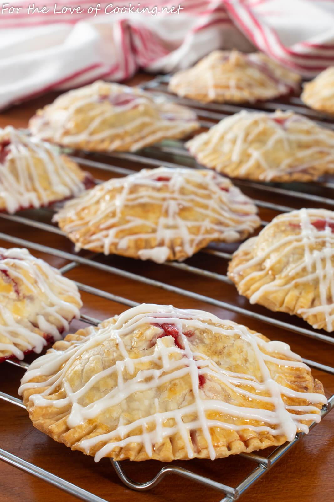 Strawberry Hand Pies with Vanilla Glaze