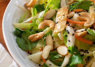 Asian Cabbage Chopped Salad