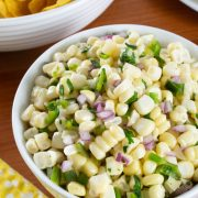 Chipotle Corn Salsa (Copycat Recipe)