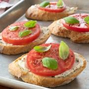 Ricotta and Fresh Tomato Toast