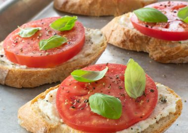 Ricotta and Fresh Tomato Toast