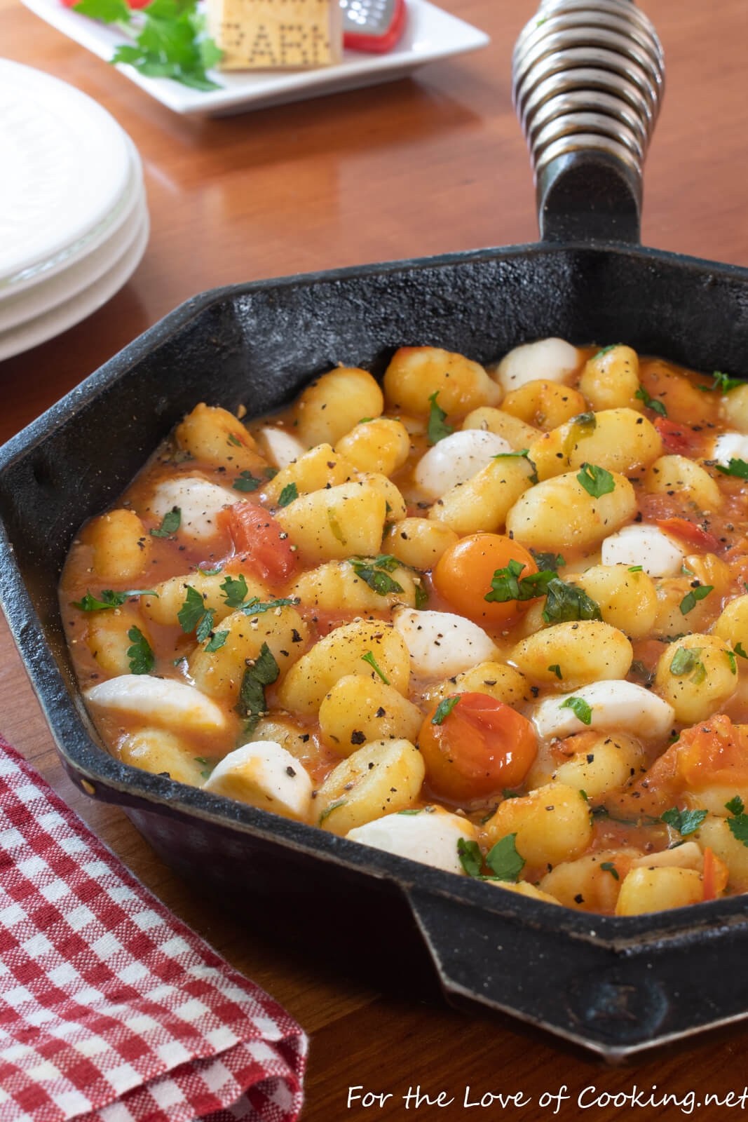 Summer Gnocchi with Burst Cherry Tomato Sauce
