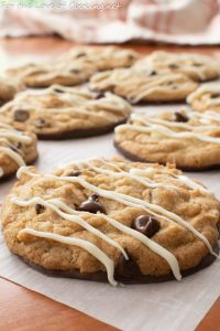Chocolate-Dipped Double Chocolate Chip Cookies