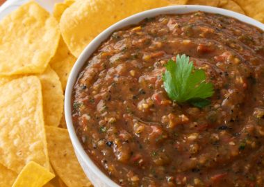 Fire-Roasted Cherry Tomato Salsa