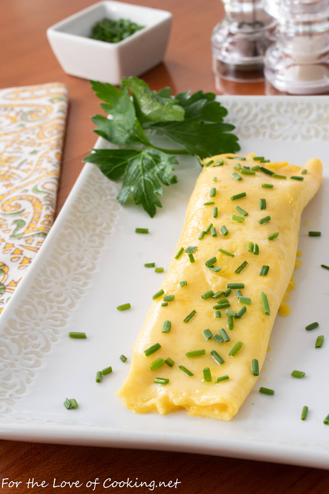 French Omelet For The Love Of Cooking
