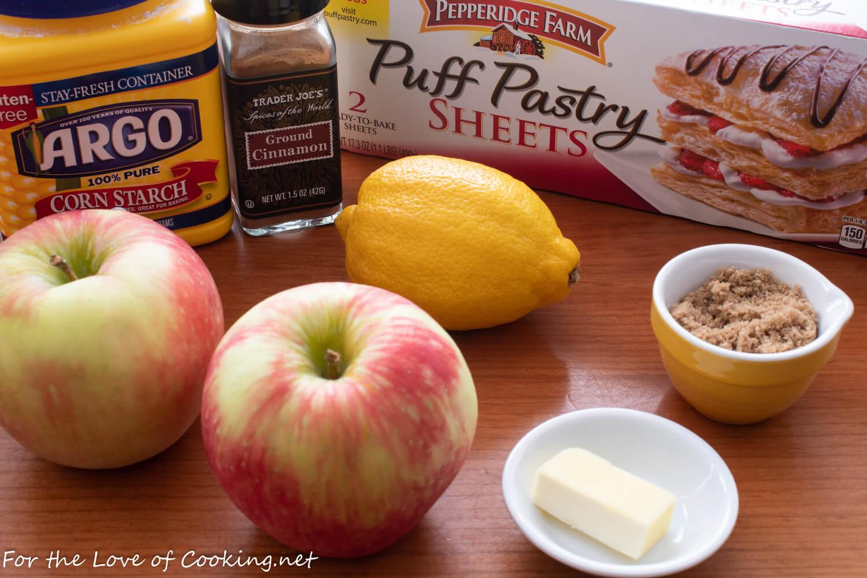 Apple Turnovers with Cinnamon Glaze