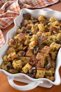 Mushroom and Bacon Stuffing
