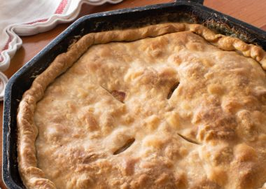 Skillet Turkey Pot Pie
